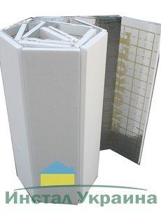 Мат под тёплый пол с разметкой, теплоотражающий 20 мм. Плотность 35кг/м3