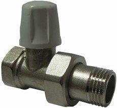 Кран радиаторный ICMA с американкой, прямой п/ключ 815 ВН 3/4`