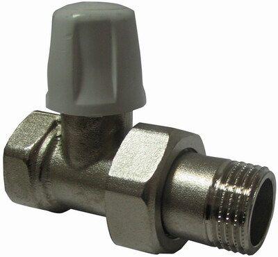Кран радиаторный ICMA с американкой, прямой п/ключ 815 ВН 3/4` цены