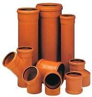 Труба WAVIN EKOPLASTIK пвх для наружной канализации ПВХ с удлинен. раструбом, класс S; 500x14,6x6000 (3064216065)