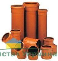 Труба WAVIN EKOPLASTIK пвх для наружной канализации ПВХ с удлинен. раструбом, класс S; 400x11,7x6000 (3064215062)