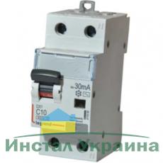 Legrand DX3 Дифференциальный автоматический выключатель 1П+Н C 40A 30mA-AC (411006)