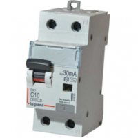 Legrand DX3 Дифференциальный автоматический выключатель 1П+Н C 25A 30mA-AC (411004)