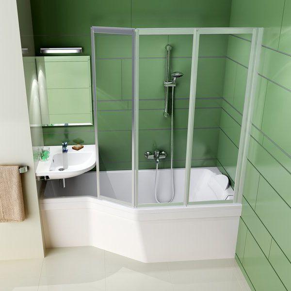 Акриловая ванна Ravak BeHappy 160 x 75 L левосторонняя