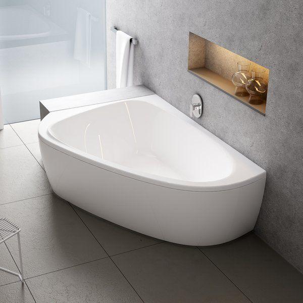 Акриловая ванна Ravak LoveStory II 1960 x 1135 - 1390 R правосторонняя