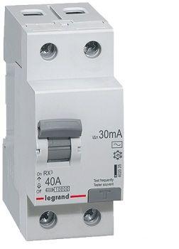 Legrand RX3 Дифференциальное реле 30mA 63А 2п AC (402026) цены