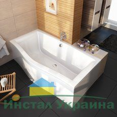 Акриловая ванна Ravak Magnolia PU Plus 170x75