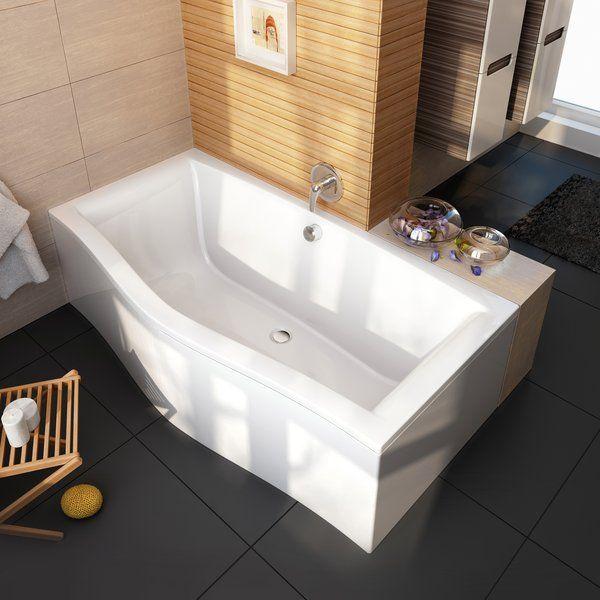 Акриловая ванна Ravak Magnolia PU Plus 180x75