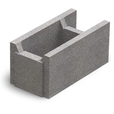 Малый бетонный блок несъемной опалубки М-100 (510х250х235) цена