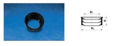 WAVIN EKOPLASTIK Манжета резиновая (переход ПВХ-чугун); 50 (3190160050) для внутренней канализации