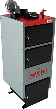 Твердотопливный котел длительного горения Marten Comfort MC-24