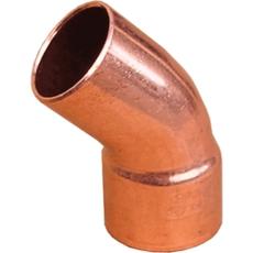 Sanha (медь) Колено 45* 5040 35мм (НВ)
