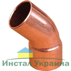 Sanha (медь) Колено 45* 5040 42мм (НВ)