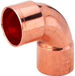 Sanha (медь) Колено 90/2м корот.5090 54мм