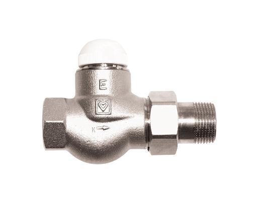 Термостатический клапан Herz Герц TS-E 1/2 R для однотрубных систем
