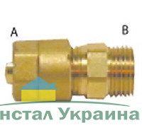 Pexal Valsir Соединительная муфта с наружной резьбой 16х1/2 короткий