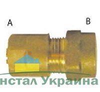Pexal Valsir Соединительная муфта с внутренней резьбой 16х1/2