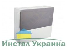Schneider electric Щит навесной MINI PRAGMA 1 ряд 12 модулей дымчатые двери (MIP12112T)