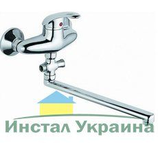 Смеситель для ванной Cristal SMART SATIN GSM-108