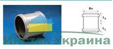 WAVIN EKOPLASTIK Муфта двухраструбная ПП, белая; 32 (3061780805) для внутренней канализации