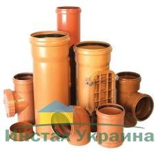 Interplast труба пвх для наружной канализации 110х3,2 SDR 33 длина трубы, L = mm 3000