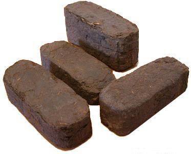 Торфяные брикеты для топки в печах, котлах. цены