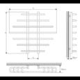 Полотенцесушитель Laris Одиссей П9 800х900 mm цена