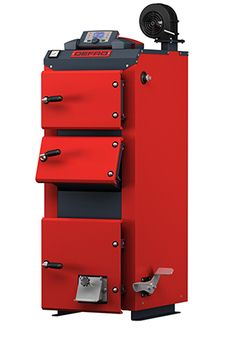 Твердотопливный котел Defro Optima Komfort Plus 25 кВт