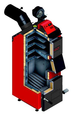 Котел на угле Defro Optima Komfort Plus 35 кВт