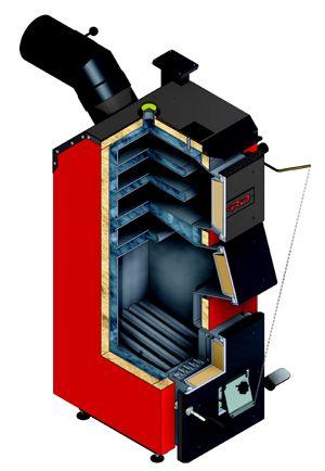 Котел на угле Defro Optima Komfort 15 кВт