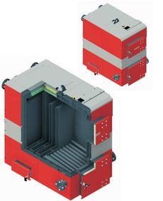 Твердотопливный котел Defro OPTIMA PLUS MAX 100 кВт