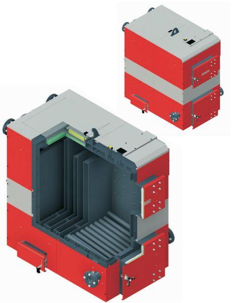 Твердотопливный котел Defro OPTIMA PLUS MAX 50 кВт