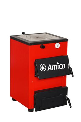 Твердотопливный котел Amica Optima 14P цены
