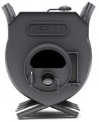 купить Печь калориферная «VESUVI» с варочной поверхностью «03» со стеклом