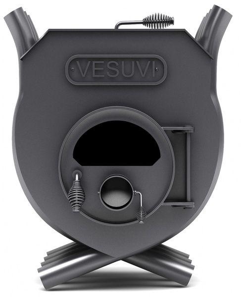 Печь калориферная «VESUVI» с варочной поверхностью «02» со стеклом