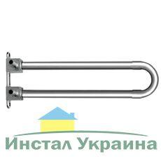 KAN-therm Отвод Push, спаренный, с трубкой Cu d15 с кронштейном - элемент никелированный Lmin =300 мм 14x2 (9015.250)