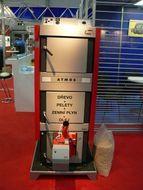 купить Твердотопливный пеллетный котел Atmos DC 18 SP(L) без горелки, шнека, бункера