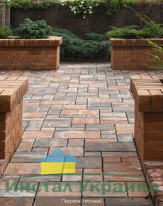 Тротуарная плитка Пассион (тоскана) (6 см)