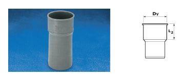 WAVIN Патрубок присоединительный; 50/40 (3261480320) для внутренней канализации
