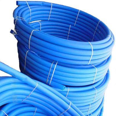 VSPlast Труба ПЭ для питьевой воды (голубая) ф 50x2.7мм, 100мп, 10 атм (Польша) цена