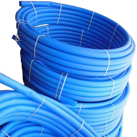 VSPlast Труба ПЭ для питьевой воды (голубая) ф 50x2.7мм, 100мп, 10 атм (Польша)