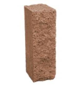 Столбик декоративный 500х175х150 (персиково-коричневый микс)