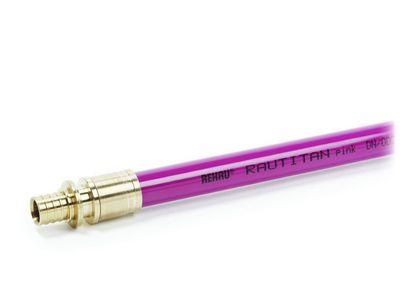Труба Rehau Rautitan pink (PE-Xa) 32х4,4 мм, бухта 25 м (136072-050) цена
