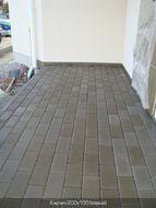 купить Тротуарная плитка Кирпич Стандартный (серый) 200х100 для пешеходной зоны (4 см)