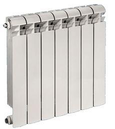 Радиатор алюминиевый Global VOX R 350x100