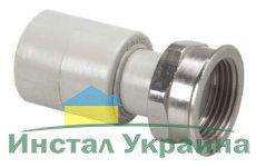 Wavin Ekoplastik Полипропиленовый переход с НГ 20x3/4 R