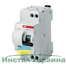 ABB Дифференциальный автоматический выключатель DS951C-20-30AC, 2Р, 20А, 30mА, C, 6kA (16021385)
