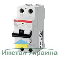 ABB Дифференциальный автоматический выключатель DS201 C16 A10, 16А, 10mА, C, 6kA (2CSR255140R0164)