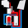 Погодозависимая насосная группа с бивалентной функцией ESBE GBC211 DN 32 (61060400) цена
