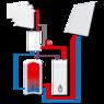 Погодозависимая насосная группа с бивалентной функцией ESBE GBC211 DN 32 (61060400)